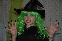 Irene en Halloween